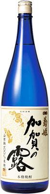s【送料無料6本入りセット】(石川)菊姫 加賀の露 25度 1800ml 米焼酎
