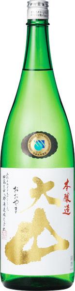 s【送料無料6本入りセット】大山 本醸造 1800ml