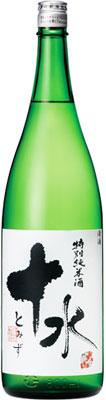 s【送料無料6本入りセット】大山 十水(とみず) 特別純米酒 1800ml