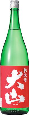s【送料無料6本入りセット】大山 赤 純米 1800ml