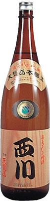 【送料無料6本入りセット】天覧山 本醸造 西川 1800ml
