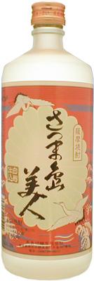s【送料無料12本入りセット】さつま島美人 25度 720ml 芋焼酎