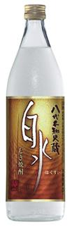 s【送料無料12本セット】白水 麦焼酎 25度 900ml