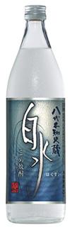 s【送料無料12本セット】白水 米焼酎 25度 900ml
