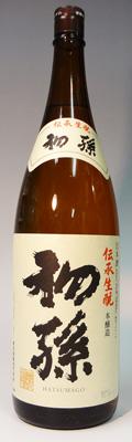 s【送料無料6本入りセット】初孫 伝承生もと本醸造 1800ml