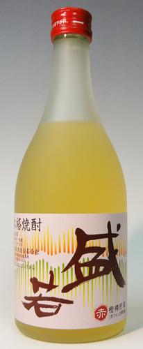 s【送料無料12本入りセット】盛若 赤 麦 25度 500ml 神津島酒造