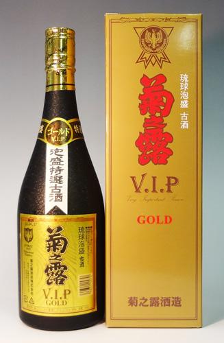 s【送料無料6本入りセット】菊之露 VIP ゴールド 30度 720ml