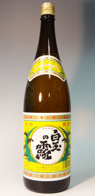 s【送料無料6本入りセット】白玉の露 25度 1800ml 芋焼酎