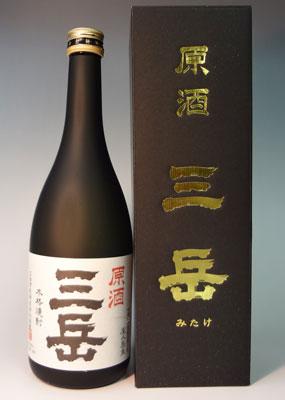 s【送料無料6本セット】(鹿児島)三岳 原酒 39度 720ml 芋焼酎