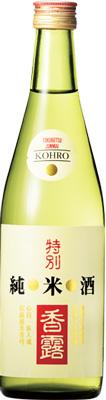 s【送料無料12本入りセット】(熊本)香露 特別純米酒 500ml