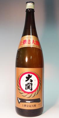 s【送料無料6本入りセット】(兵庫)大関 上撰金冠 1800ml