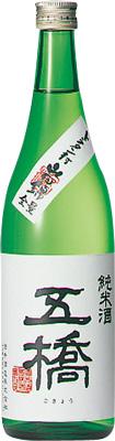 【送料無料12本入りセット】(山口)五橋 純米酒 720ml