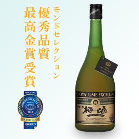 s【送料無料6本入りセット】チョーヤ梅酒 エクセレント 750ml アルコール分:14%