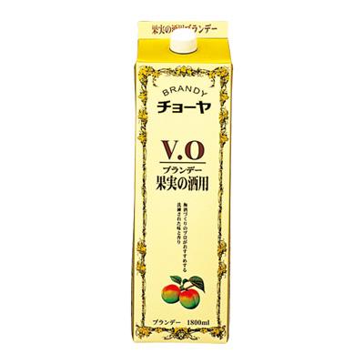 【送料無料6本入りセット】チョーヤ ブランデー VO パック 1800ml アルコール分:37%