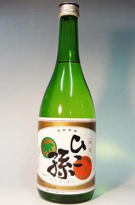 s【送料無料12本入りセット】(埼玉)ひこ孫 純米酒 720ml 阿波・山田錦 精米歩合55%
