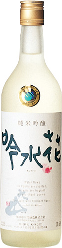 s【送料無料12本入りセット】大山 純米吟醸 吟水花 720ml