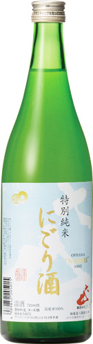 s【クール便料金&送料無料12本入りセット】(山形)大山 特別純米 にごり酒 720ml