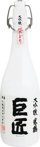【クール便送料無料6本入りセット】(山形)米鶴 大吟醸巨匠袋どり 720ml