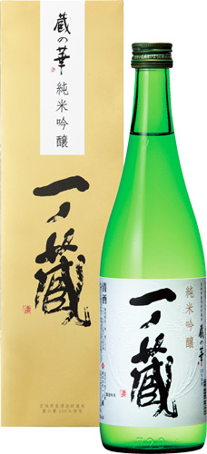 s【送料無料6本入りセット】(宮城)一ノ蔵 純米吟醸 蔵の華 720ml 箱入り