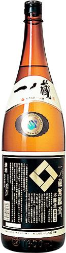 s【送料無料6本入りセット】一ノ蔵 無鑑査本醸造超辛口 1800ml