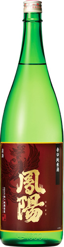 s【送料無料6本入りセット】(宮城)鳳陽 辛口純米酒 1800ml
