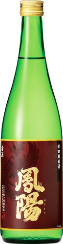 s【送料無料12本入りセット】(宮城)鳳陽 辛口純米酒 720ml