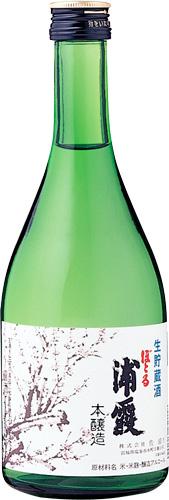 【送料無料12本入りセット】(宮城)ぼとる浦霞 本醸造生貯蔵酒 500ml
