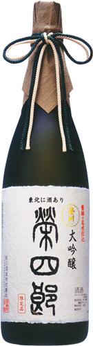 s【クール便送料無料6本入りセット】(福島)栄川 大吟醸 榮四郎 1800ml