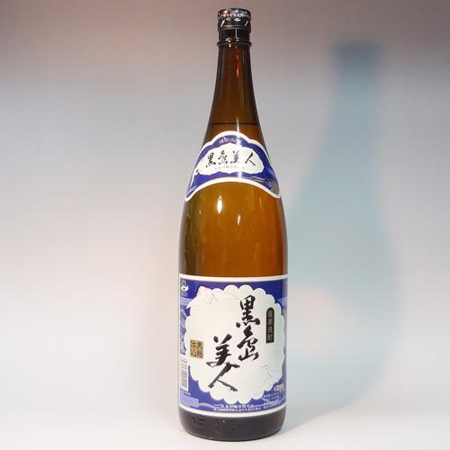 s【送料無料6本入りセット】(鹿児島)黒島美人 25度 1800ml 芋焼酎