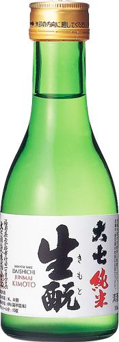 s【送料無料30本入りセット】(福島)大七 生もと純米 180ml