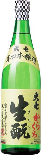 生もと本醸造からくち s【送料無料12本入りセット】(福島)大七 720ml