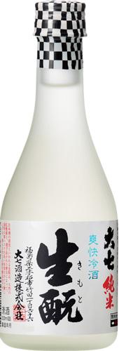【12本入りセット】(福島)大七 爽快冷酒 生もと純米 300ml