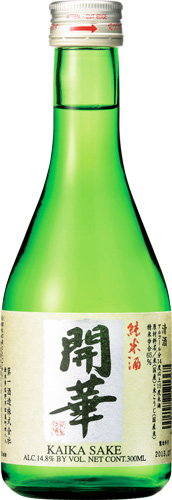 【送料無料24本入りセット】(栃木)開華 純米酒 300ml