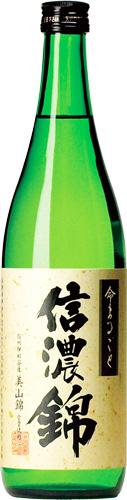 s【送料無料12本入りセット】(長野)信濃錦 特別純米 命まるごと 720ml