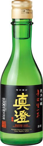 【送料無料24本入りセット】(長野)真澄 純米吟醸 辛口生一本 300ml