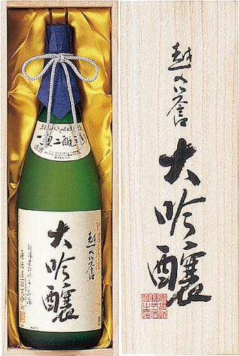 s【送料無料6本入りセット】(新潟) 越の誉 大吟醸 1800ml  越乃誉