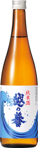 s【送料無料12本入りセット】(新潟) 越の誉 波 純米 720ml  越乃誉