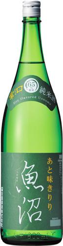 s【送料無料6本入りセット】(新潟)白瀧 純米酒 魚沼 辛口 1800ml