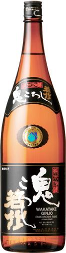 s【送料無料6本入りセット】(静岡)若竹鬼ころし 純米吟醸 1800ml
