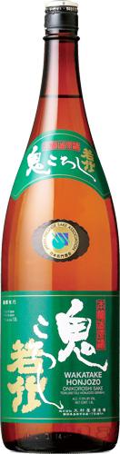 s【送料無料6本入りセット】(静岡)若竹鬼ころし 特別本醸造原酒 1800ml