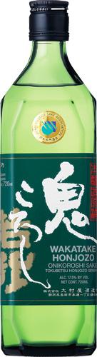【送料無料12本入りセット】若竹鬼ころし 特別本醸造原酒 720ml