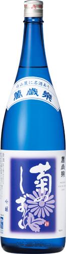 s【送料無料6本入りセット】萬歳楽 菊のしずく 吟醸 1800ml