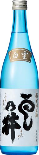 s【送料無料12本入りセット】(福井)雲乃井 純米吟醸 白雲 720ml 雲之井 雲の井