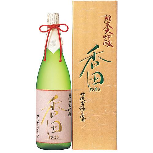 s【送料無料3本入りセット】(京都)香田 50磨き 純米大吟醸 1800ml