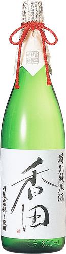 s【送料無料6本入りセット】(京都)香田 特別純米酒 1800ml