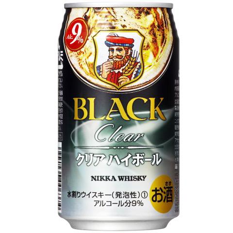 s【送料無料3ケースセット】ブラックニッカクリアハイボール缶350ml(1ケースは24本入りです)