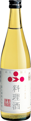 s【送料無料12本入りセット】(兵庫)富久錦(ふくにしき)純米料理酒 500ml