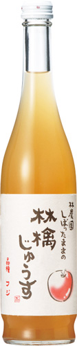 s【送料無料30本入りセット】(長野)林農園 しぼったままの林檎じゅうす 500ml k