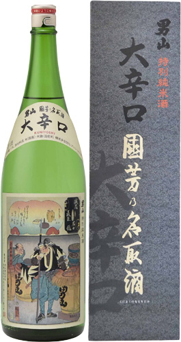 男山特別純米酒國芳乃名取酒1800ml