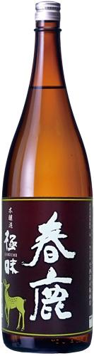 s【送料無料6本セット】(奈良)春鹿 本醸造 極味 1800ml